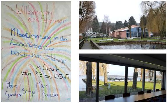 Begrüßung Seminar - Fotos Seminarort Märkisches Gildehaus.